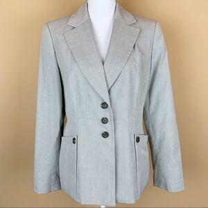New Nine Weat pinstriped blazer suit jacket